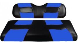 Recouvrement siège arrière bleu et noir