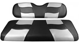 Recouvrement siège arrière gris et noir