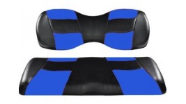 Recouvrement siège avant bleu et noir