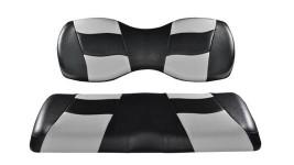 Recouvrement siège avant gris et noir