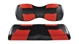 Recouvrement siège avant rouge et noir
