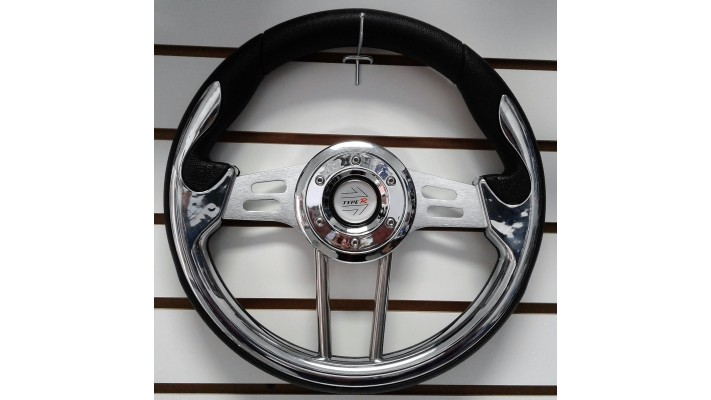 Volant sport chrome